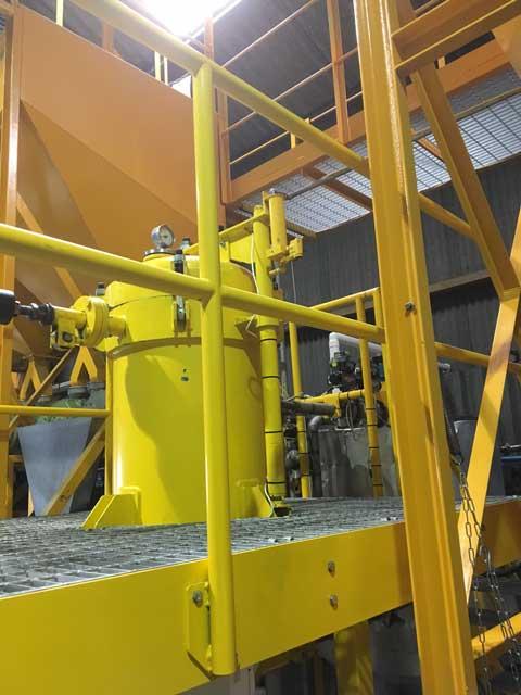 Equipment At Farrington Oils